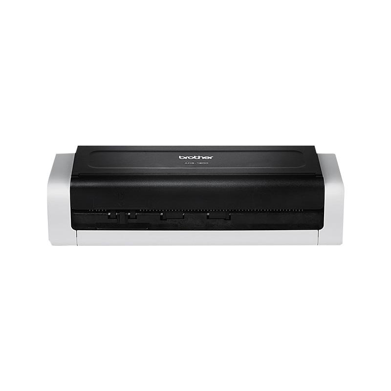 兄弟(brother)ADS-1200 双面彩色扫描仪 连续彩色扫 专属认证扫描 扫描至USB内存盘 1200扫描仪